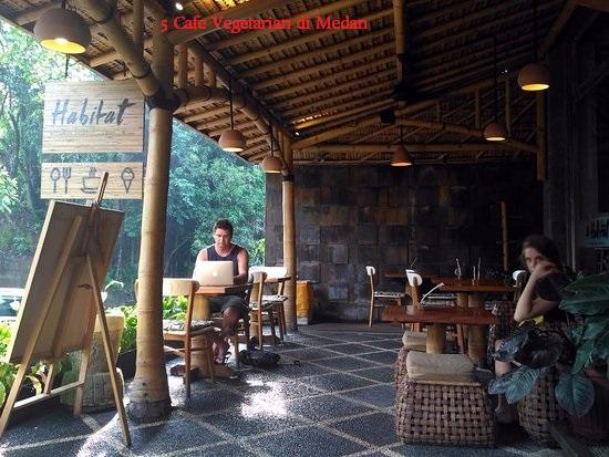 Cafe Vegetarian di Medan