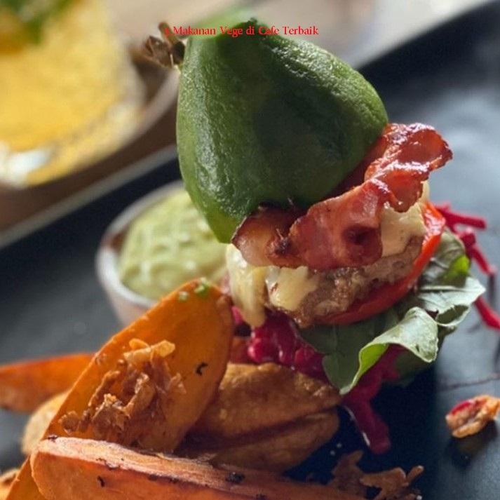 Makanan Vege di Cafe Terbaik