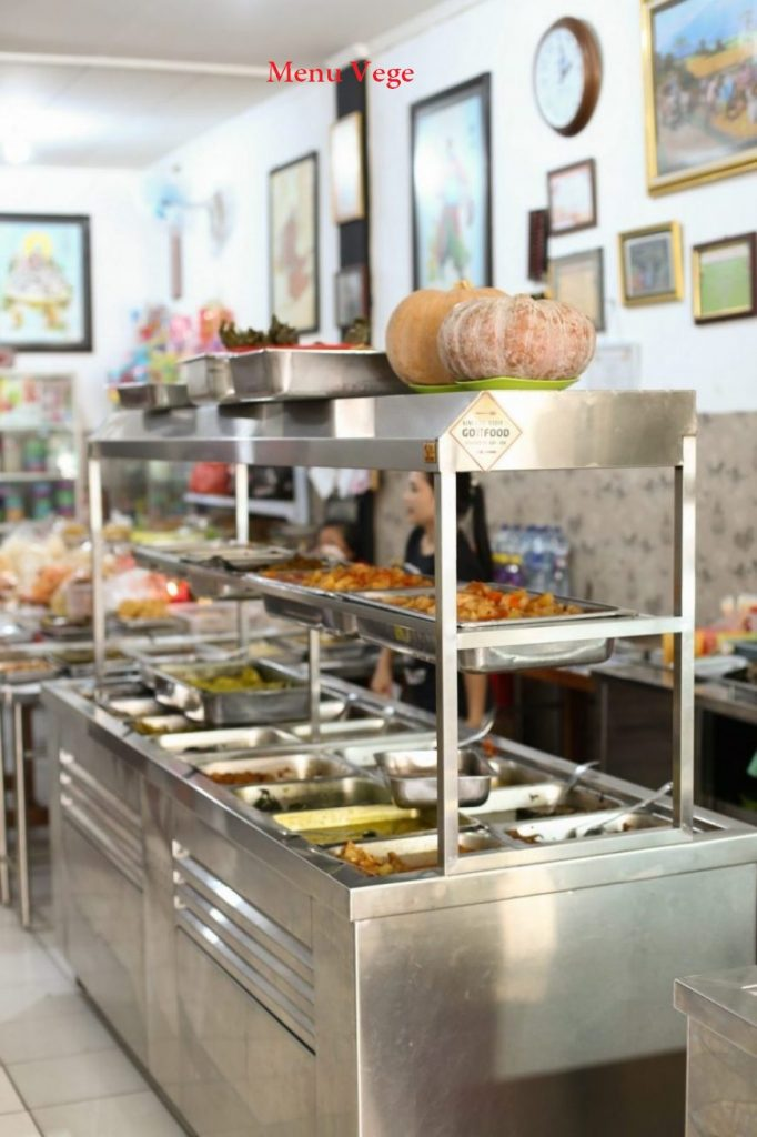 Cafe Pinggir Jalan di Medan Menu Vege