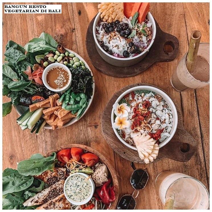 Bangun Resto Vegetarian Di Bali