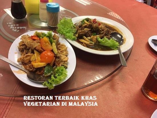 Restoran Terbaik Khas Vegetarian di Malaysia